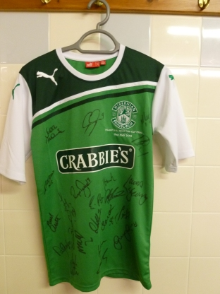 Sign Hibs Strip