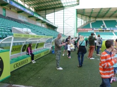 Fans in the Dug Out