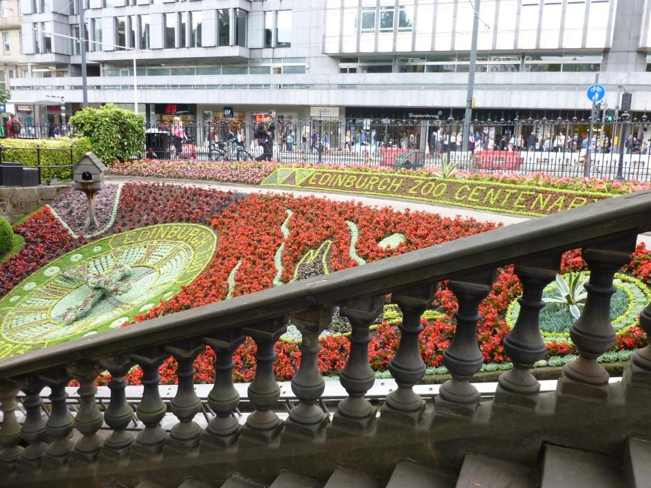 Princes St Gardens Clock