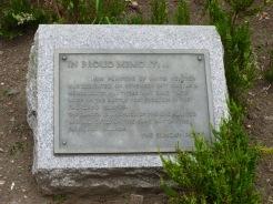 Falklands Memorial Plaque