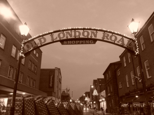 Old London Road...