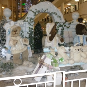 Bentalls Christmas display