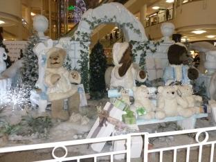 Bentalls Christmas display