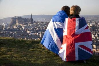 Scot and union flag