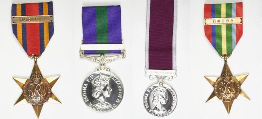 War medals, cash and jewellery stolen in theGrange