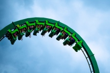 green rollercoaster