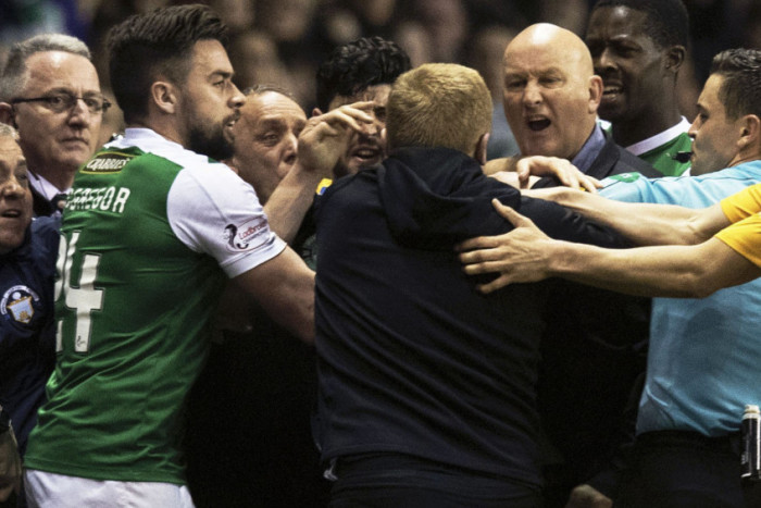 Square go's, red cards and a frustrating Hibsdisplay