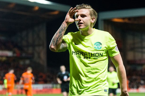 Red cards and handbags at Tannadice but Hibs win, the league is ours